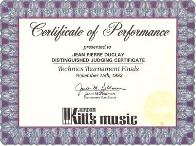 juge KITT s music